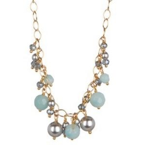 Chan Luu Gold/Silver Amazonite Beaded Necklace